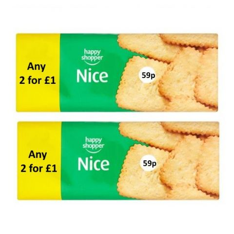 Nice Coconut Biscuits Happy Shopper 200g (2 Pack)